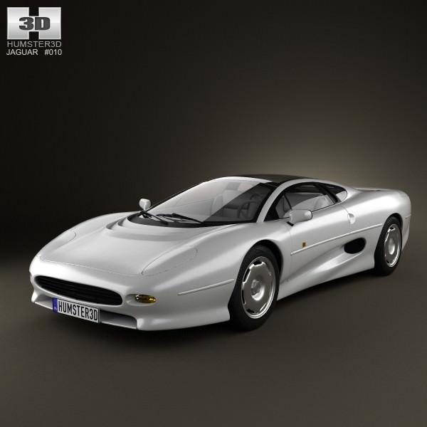 Jaguar XJ220 1992 3D | CGTrader
