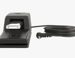 Sustain Pedal Roland DP-10 3D
