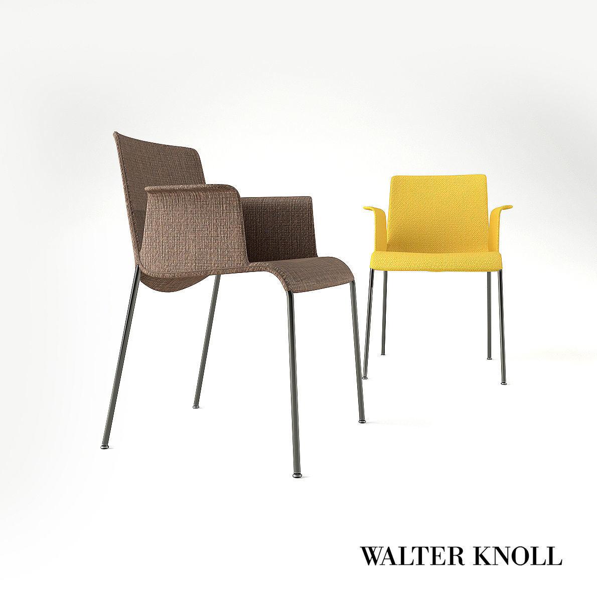 Claudio Bellini Design.Armchair Liz From Walter Knoll Design By Claudio Bellini 3d Model