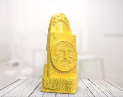 3D printable model Maya statue 07