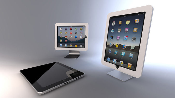 3d ipad stand cgtrader for Architecture 3d ipad