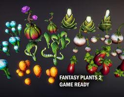 3D model Fantasy plants 2