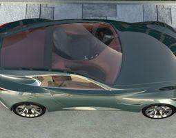 3D model Infiniti Essence