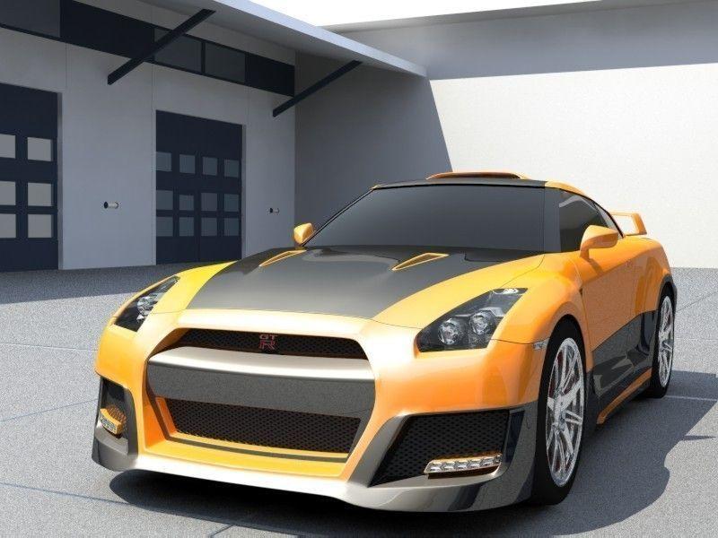 Nissan Skyline Gt R Tuning 3d Model Cgtrader