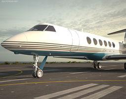 v Gulfstream V 3D model