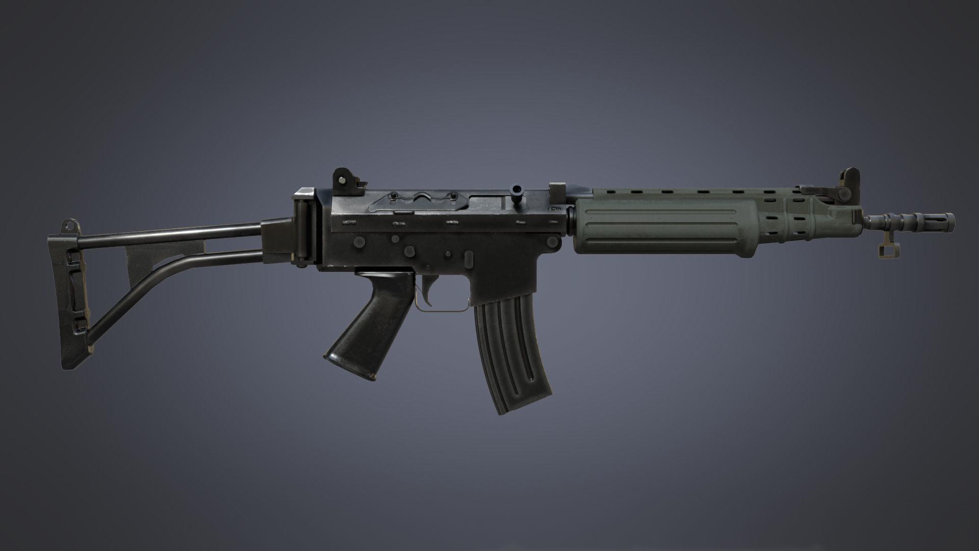 3d asset fn fnc carbine cgtrader