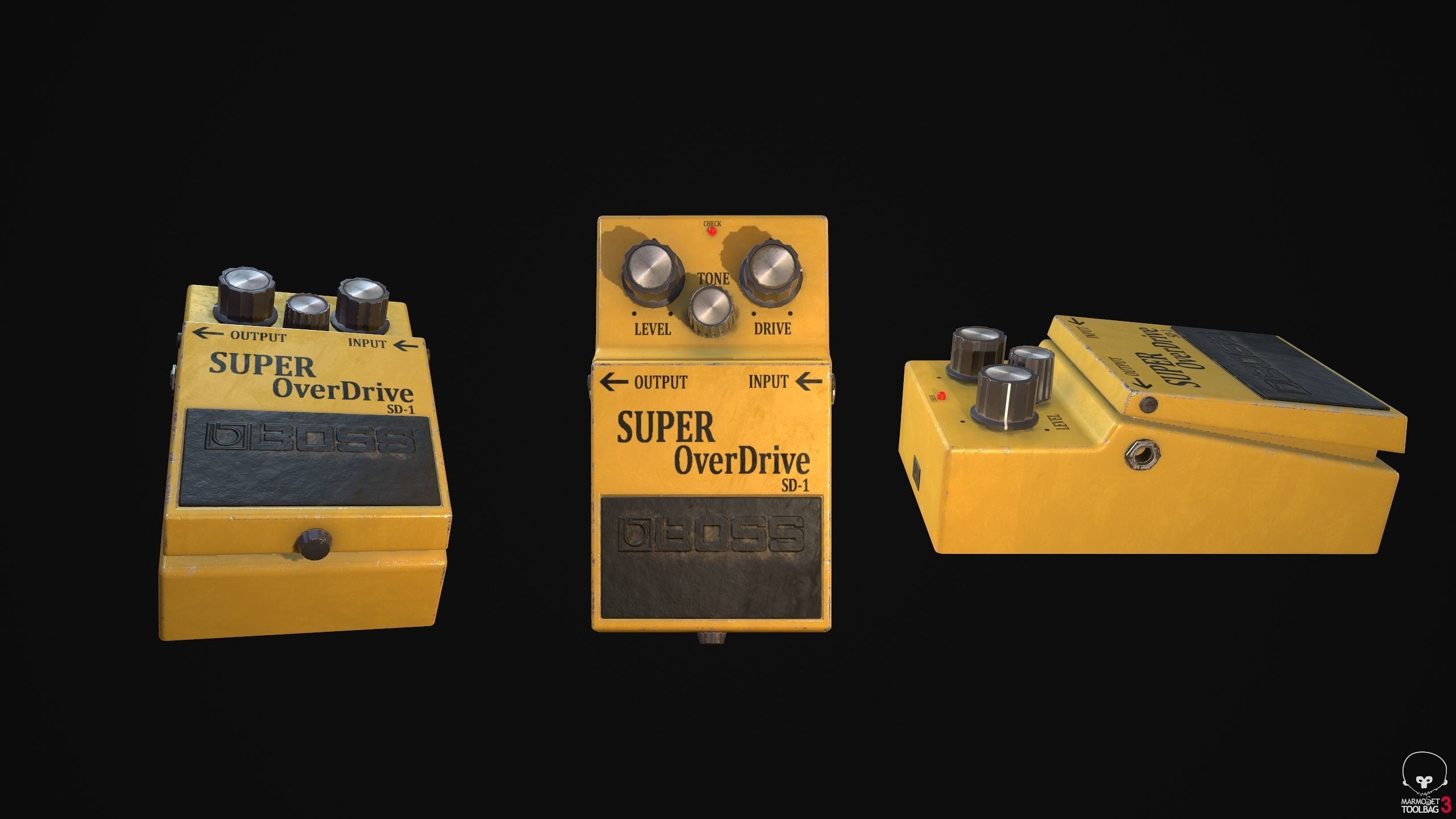 Super Overdrive Distortion Pedal for Guitar