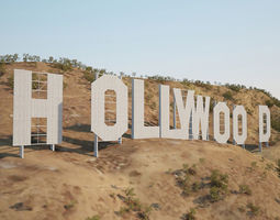 Hollywood Sign 3D