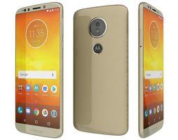 Motorola Moto E5 Fine Gold 3D