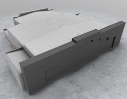 EGKK Hangar 3 3D asset
