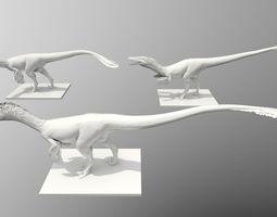 3D printable model Raptor Three Poses
