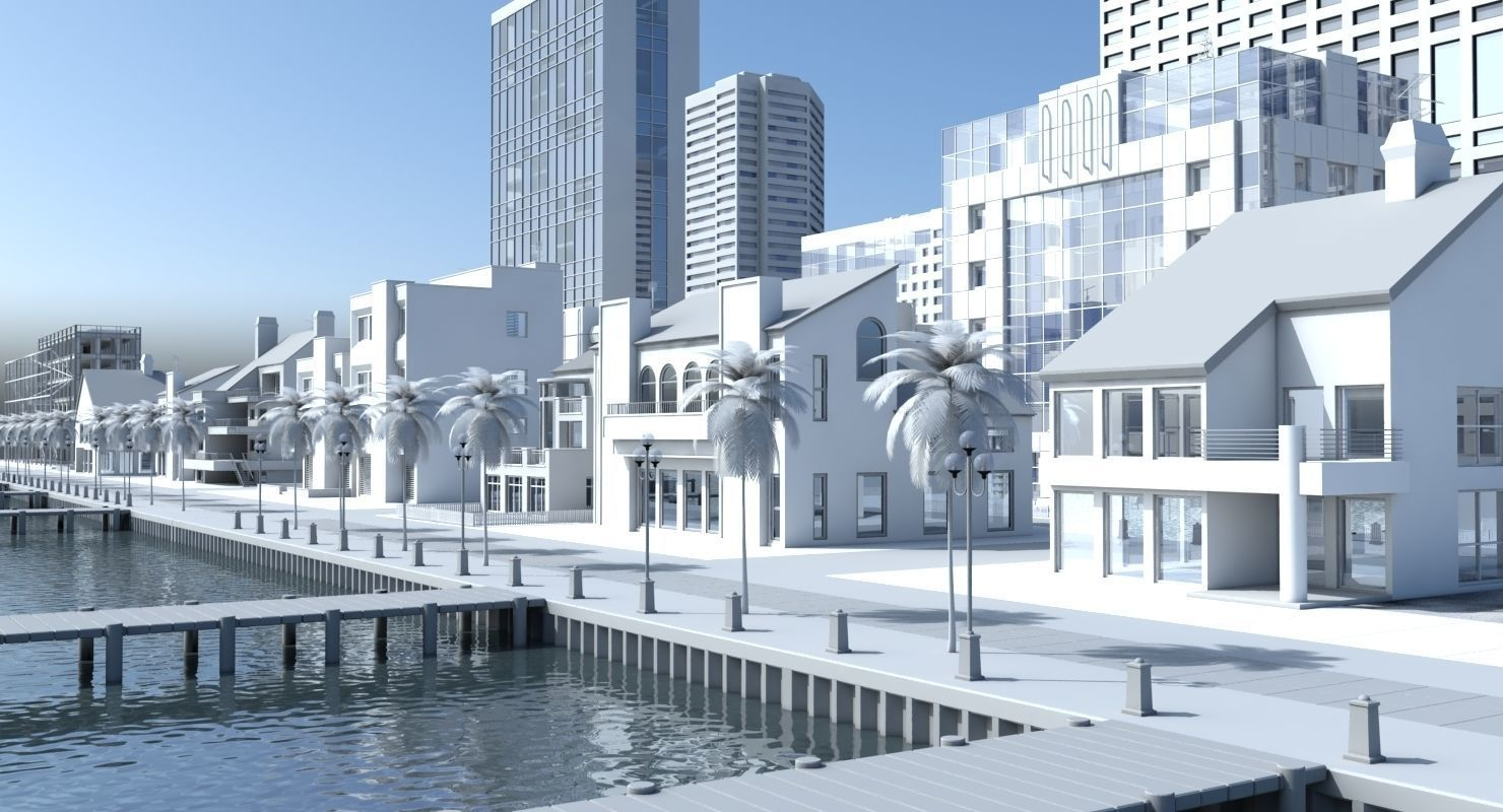 3d City Port