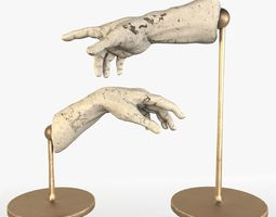 3D model The Creation of Adam Sculpture