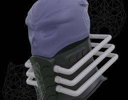 Mask and Collar of All for One 3D print model