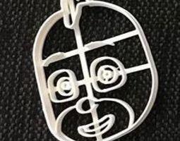 Cookie Cutter Pj Mask Green 3D print model