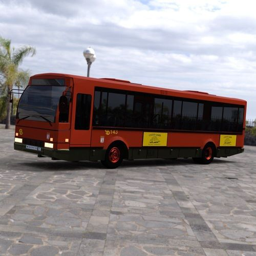 emt bus for daz studio 3d model pdf duf 1