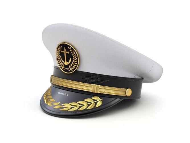 8e83e5533f8c7 army Navy Captain Hat 3D