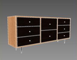 dresser sideboard 3d