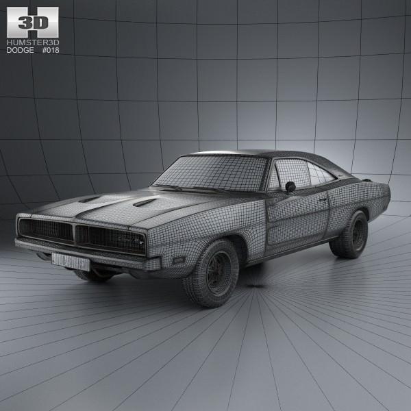 3d model dodge charger rt 1969 cgtrader malvernweather Images