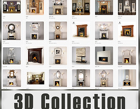 3D model Fireplaces Collection