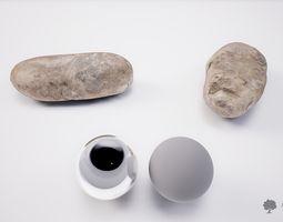 Small river rock 005 - Photogrammetry 3D model