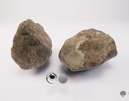 3D asset Stone 001 - Photogrammetry