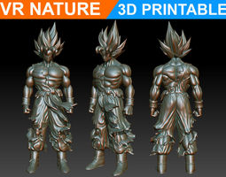 Goku 3d printable 180706
