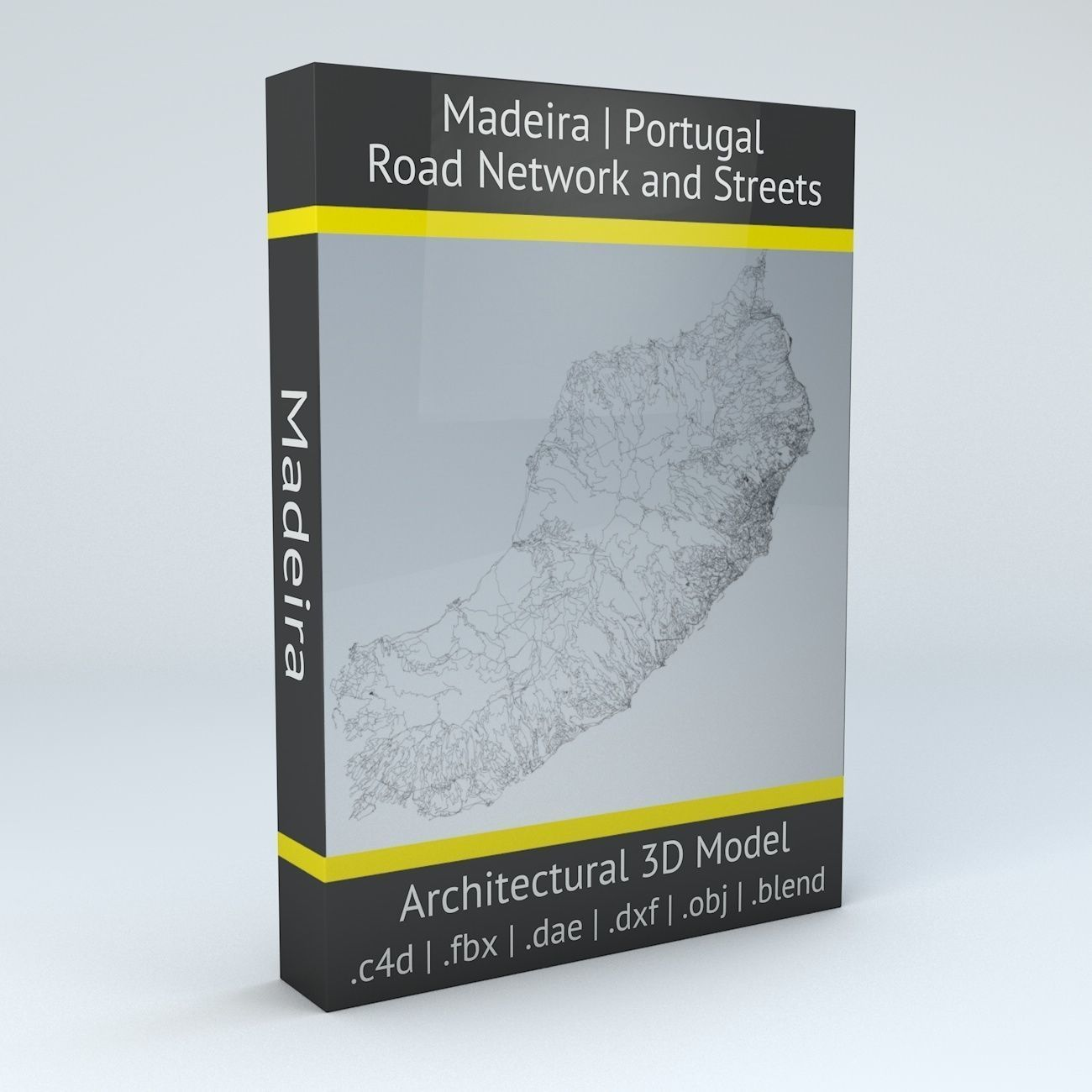 Madeira Road Network and Streets