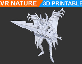 Low poly Style Aatrox LOL 3D Printable 180707