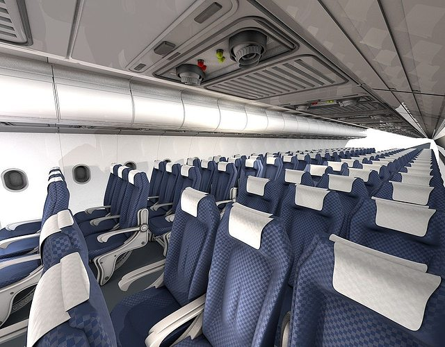 Airplane Interior 3d Model Obj 3ds C4d Cgtrader Com