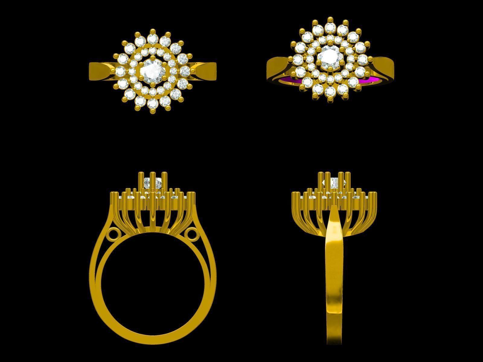 Indian Jewellery Design 3D print model