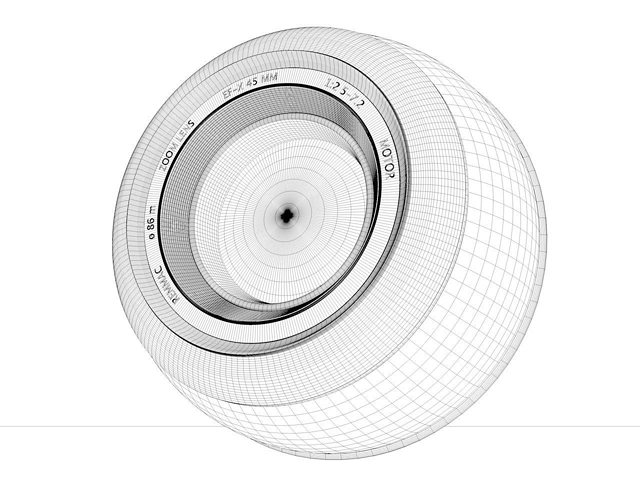 sphere-camera 3d model obj 3ds fbx c4d dxf 1