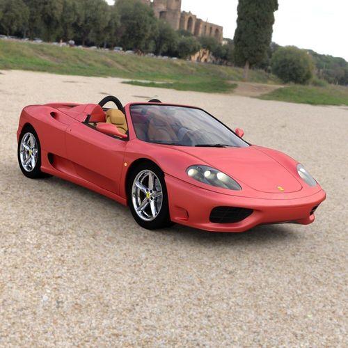 3d Ferrari 360 Spider 2000 For Daz Studio Cgtrader