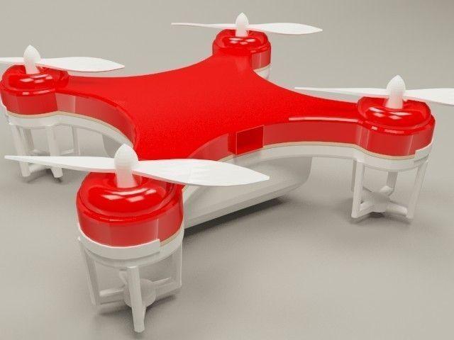 Skeye Nano Drone 3d Model Max 1