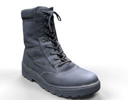 Military Boots Scan 3D