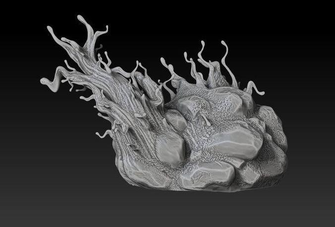 custom base-only for venom model from malix3design 3d model obj mtl 1
