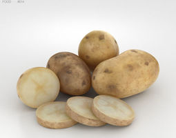 vegetable Potato 3D model