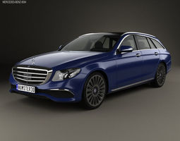 3D model Mercedes-Benz E-Class S213 Exclusive Line 1