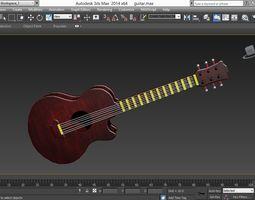 3D model realtime guitar