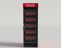 Coca-Cola Vending Machine 4 3D asset