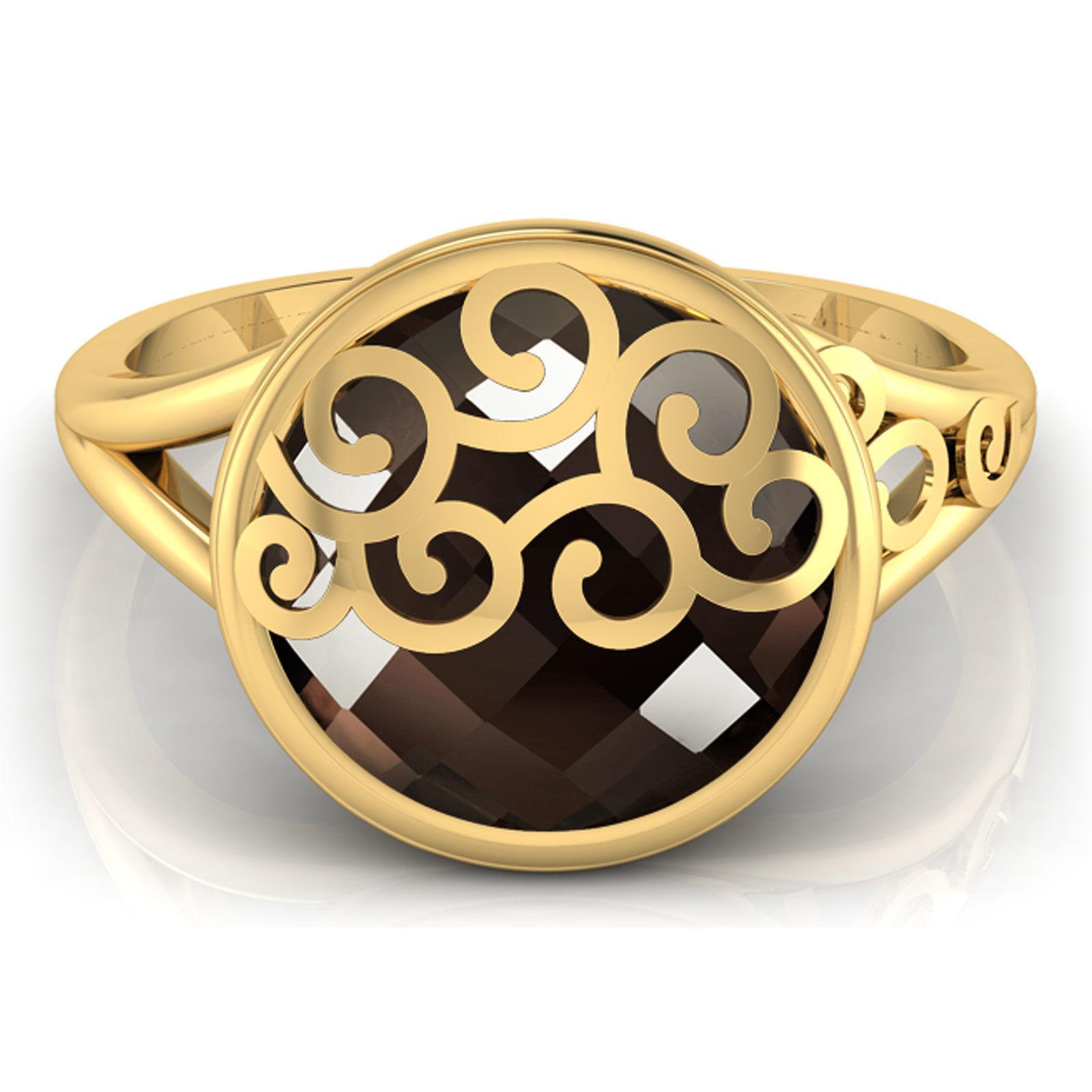 Brown Stone Ring