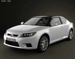 Scion tC 2012 3D