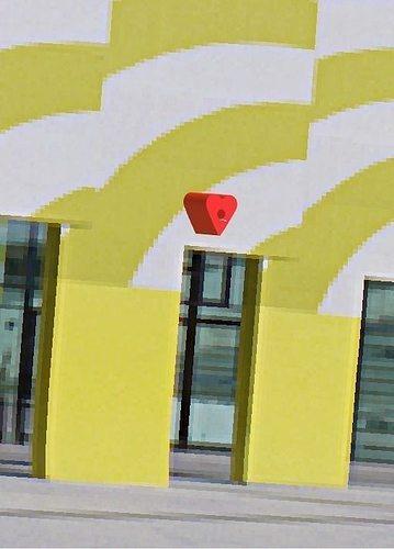 Heart Birdhouse of love