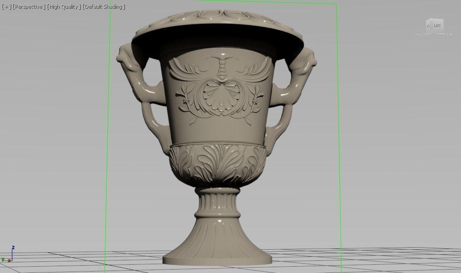 Vase Art 3d Model 3d Printable Obj Mtl Stl