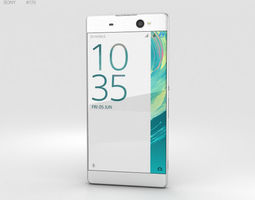 3D model Sony Xperia XA Ultra White