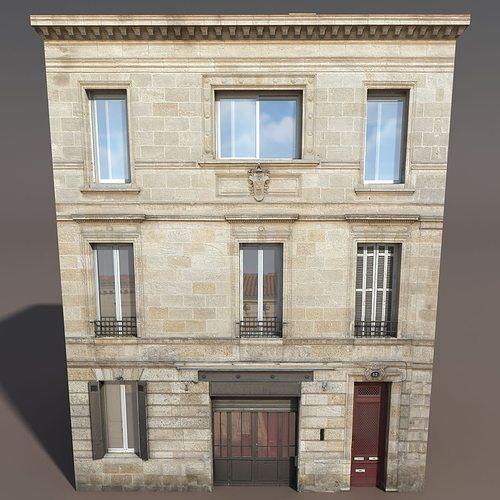 3d model apartment house cgtrader for Apartment model house