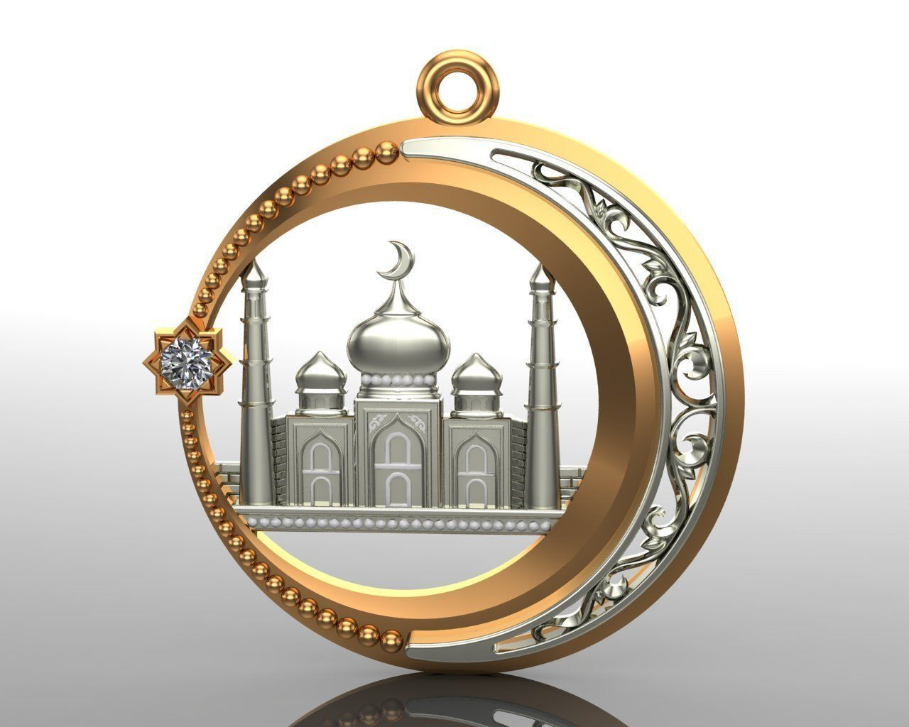 Pendant 04 Mosque