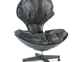 Lounge Egg Chair 3D