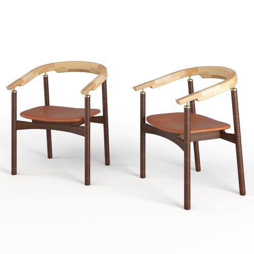 ostinate arm chair 3d model max obj mtl mat 1
