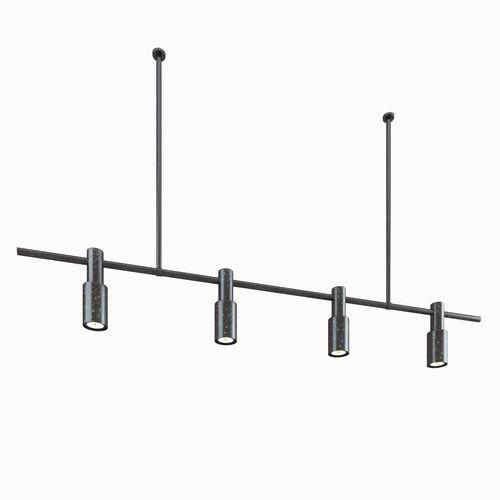 rusty pendant lights bar 3d model max obj mtl mat 1